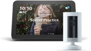 Echo Show 8 with Ring Indoor Camera