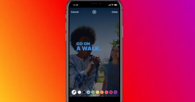 Instagram Stories Will Now Have Caption Stickers