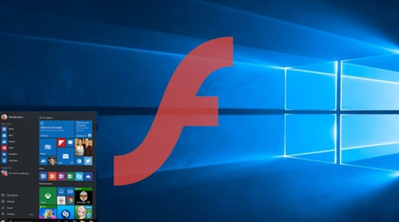 Microsoft To Disable Flash on Windows 10 Starting July 2021