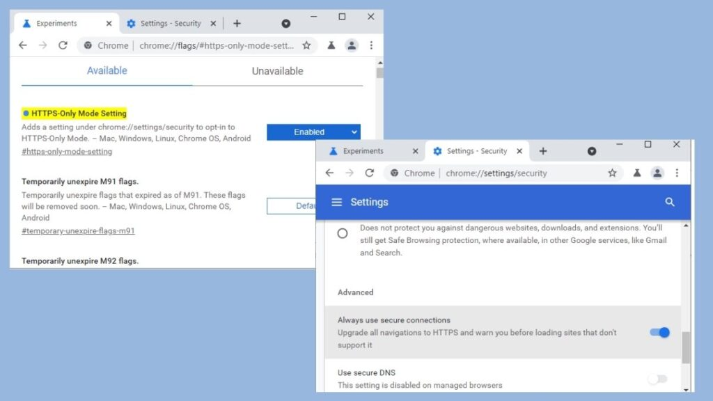 How To Enable HTTPS-Only Mode in Chrome Browser